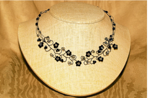 Twisted Wire Necklace with Melody Macduffee @ Ain't Miss Bead Haven Bead Shop